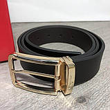 Ferragamo Belt Reversible And Adjustable Gold/Black, фото 2