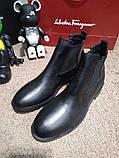 Zara Classic Leather Boots Black, фото 3