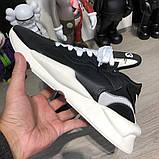Adidas Y-3 Kaiwa Sneakers Black/White, фото 5
