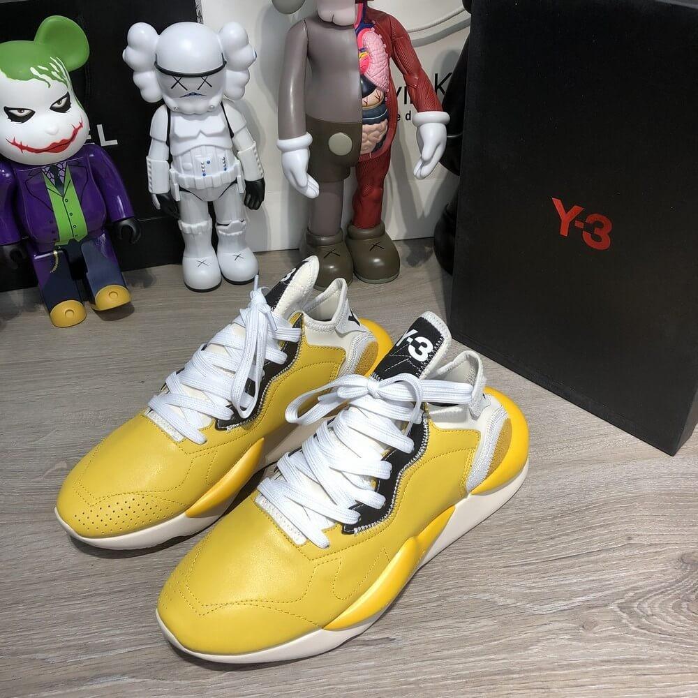 Adidas Y-3 Kaiwa Sneakers Yellow/White