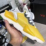 Adidas Y-3 Kaiwa Sneakers Yellow/White, фото 9