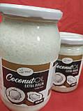 Кокосова олія холодного віджиму Преміум Extra Virgin Індонезія 0,9 л., фото 4