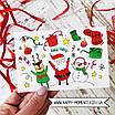 Стильная новогодняя открытка, фото 2