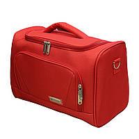 Сумка бьюти кейс для стюардессы Worldline 895/14 красная, фото 1