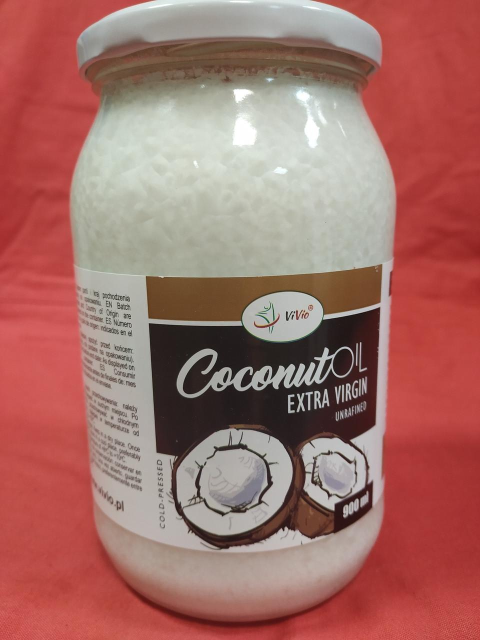 Кокосова олія холодного віджиму Преміум Extra Virgin Індонезія 0,9 л.