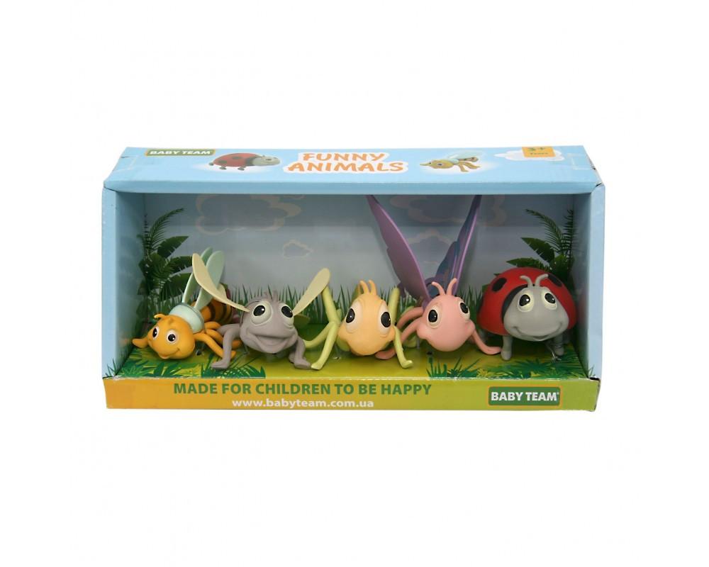 Набор игрушек «Насекомые», 5 шт 8834