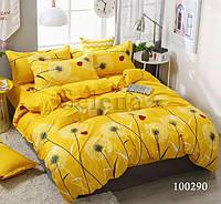 Комплект постельного белья Selena Солнечные одуванчики 100290 Полуторный комплект
