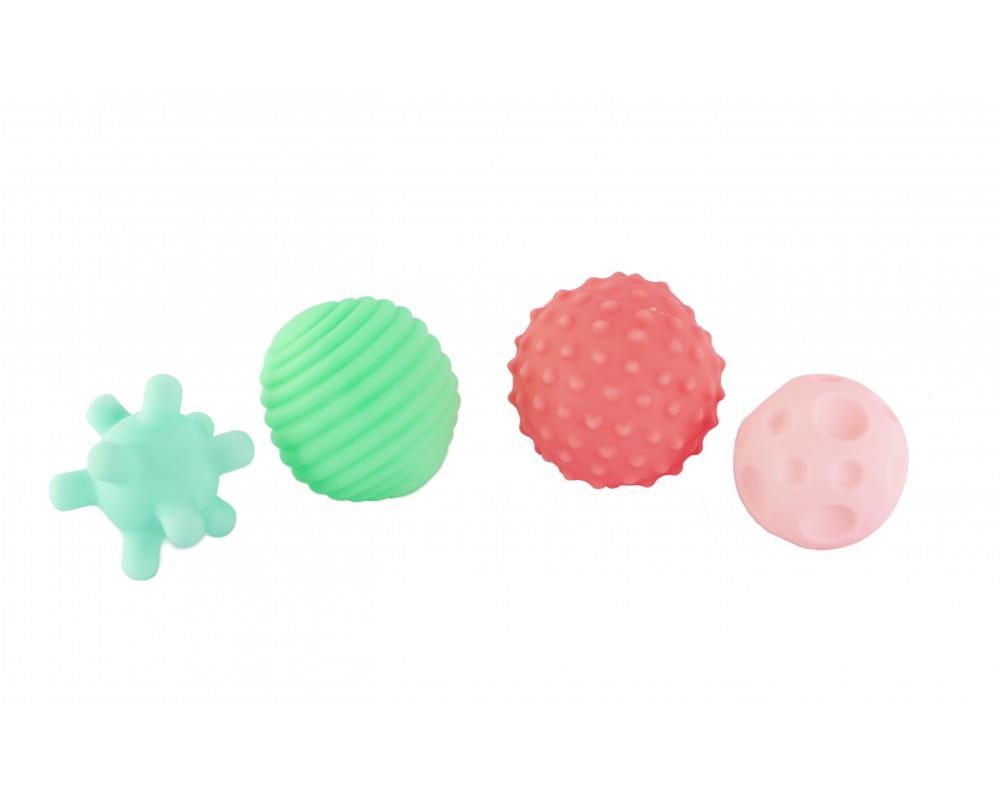 """Набор игрушек для ванны """"Мячики"""", 4 шт. 9024"""