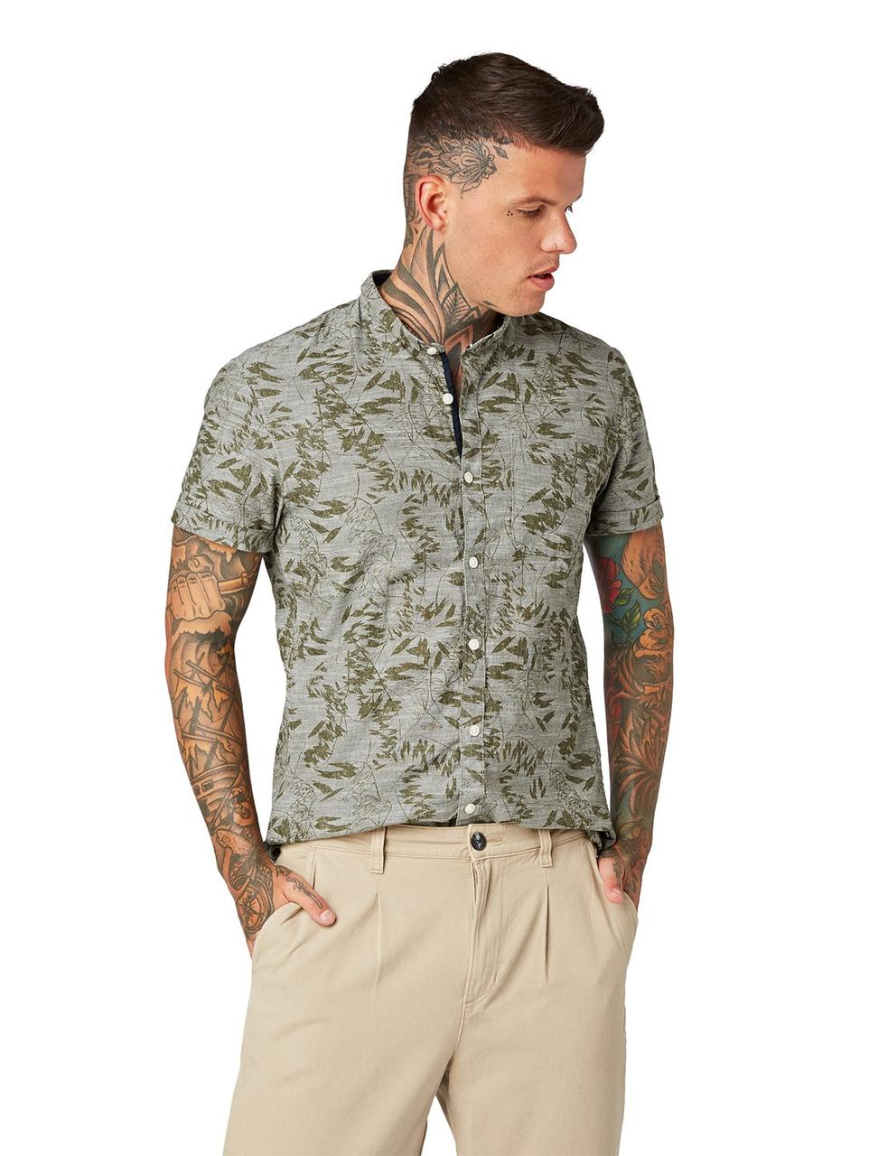 Рубашка Tom Tailor 1010936 M Хаки