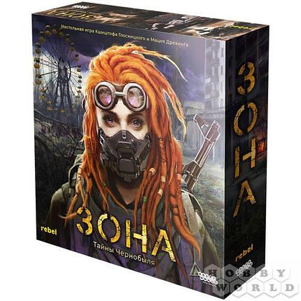 Настольная игра Зона: Тайны чернобыля, фото 2