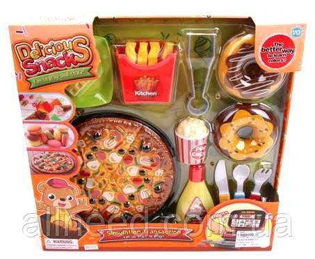 Игрушечная еда пицца, фаст фуд