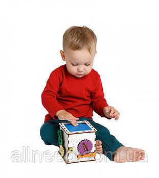 Бизикуб Кубик развивающий Малыш