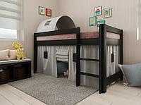 Кровать двухъярусная, кровать чердак детская деревянная