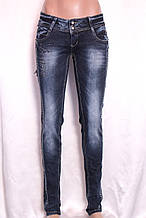 Женские узкие джинсы с низкой посадкой А061