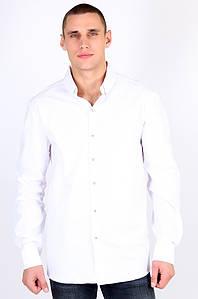 Рубашка мужская батальная белая размер 4XL Well Done 123464P