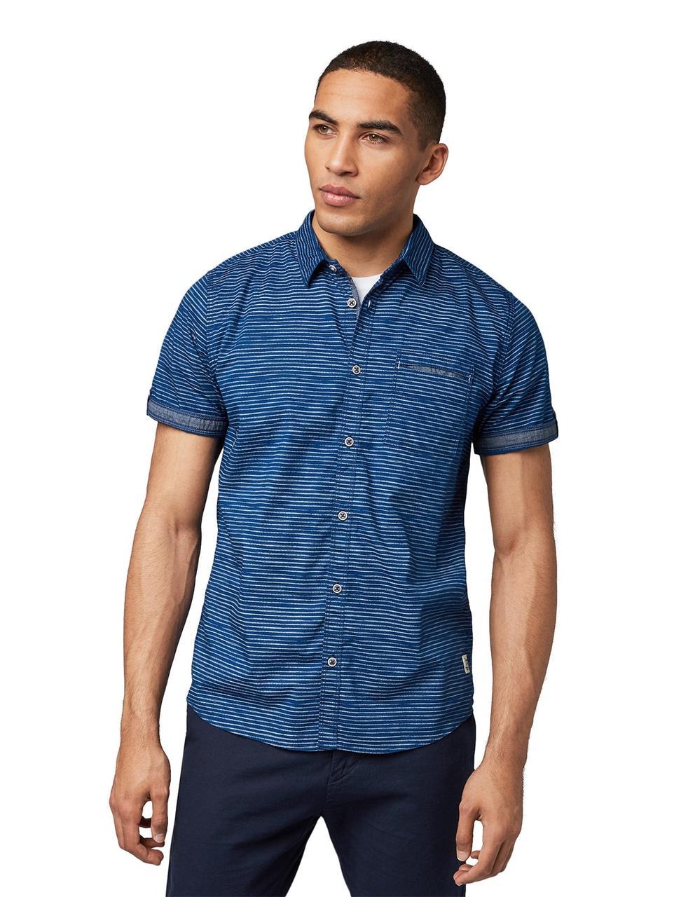Рубашка Tom Tailor 1010110 XL Синий
