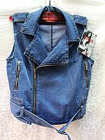 джинсовая жилетка (XL p.)
