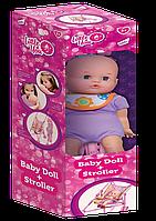 Лялька з коляскою 12783