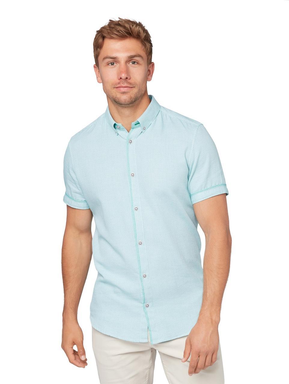 Рубашка Tom Tailor 1009974 L Голубой