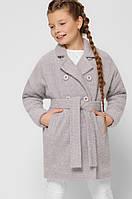 Демисезонное детское пальто для девочки x-woyz DT-8308-4, фото 1