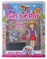 Іграшковий набір Space Baby фігурка-конструктор з аксесуарами серії Girl's Pet