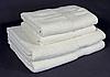 Полотенце махровое бело-молочное (70х140 см) для ежедневного использования