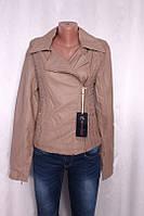 Куртка женская из кожезаменителя
