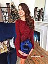 Платье облегающее из люрекса с пайеткой нарядное длиной выше колена (р. 42-44) 9plt1997, фото 3