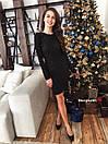 Платье облегающее из люрекса с пайеткой нарядное длиной выше колена (р. 42-44) 9plt1997, фото 5