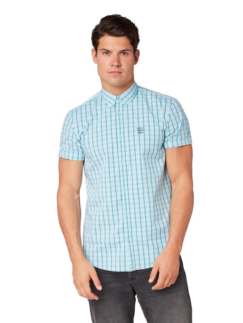 Рубашка Tom Tailor 1010871 L Голубой