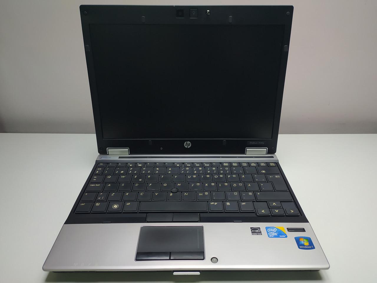 "Ноутбук HP EliteBook 2540p /Intel Core i5-540M 2.53GHz/4Гб/12.1""/Intel HD Graphics"