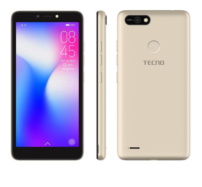 Tecno Pop 2F (B1F) 1/16GB Dual Sim Champagne Gold (4895180746666)