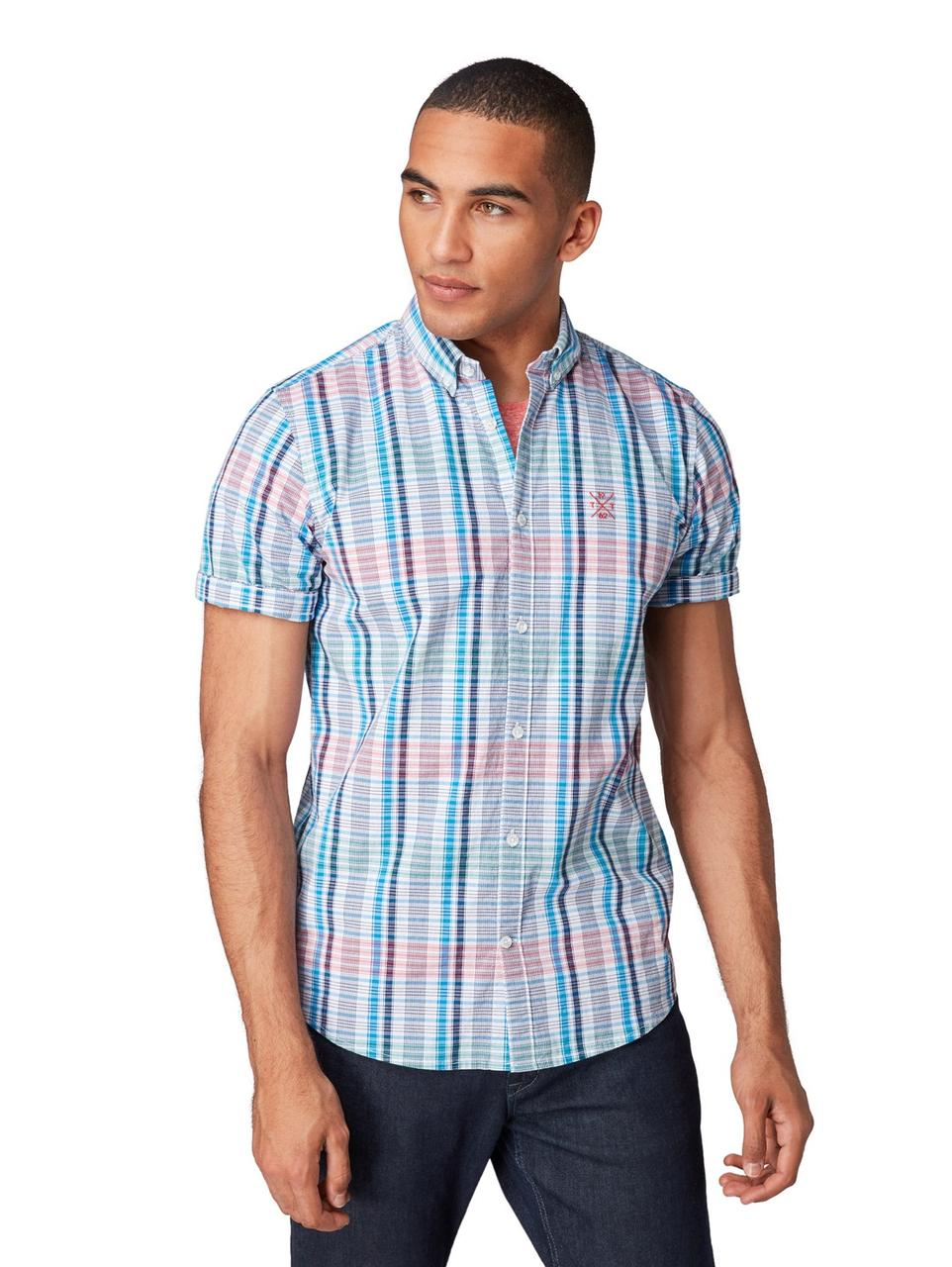 Рубашка Tom Tailor 1010871 XL Разноцветный
