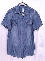 Джинсовая мужская рубашка новинка 2015