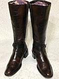 Высокие кожаные сапоги 41 -42 размер, фото 2