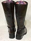 Высокие кожаные сапоги 41 -42 размер, фото 3