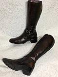 Високі шкіряні чоботи 41 р, фото 5
