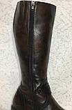 Високі шкіряні чоботи 41 р, фото 7