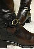 Високі шкіряні чоботи 41 р, фото 9