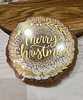 Подстаканник круглый merry Christmas, фото 1