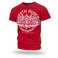 Футболка Dobermans Death Riders TS166RD XXL Красная TS166RD-XXL, КОД: 273717