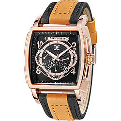 Часы Daniel Klein DK10933-2 Черные с коричневым, КОД: 115669