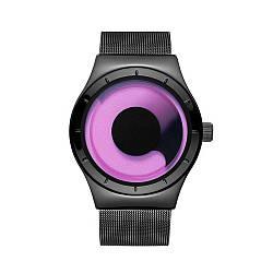 Часы Guanqin GS19063 CS Black-Purple-Black GS19063BPB, КОД: 2349903