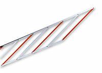 Алюминиевая шторка-решетка под стрелу, 2м - WA 13