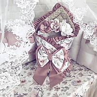 Комплект в детскую кроватку с бортиками зверушками / комплекти в дитяче ліжечко з бортиками звірятками