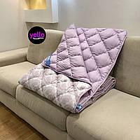 Одеяло полуторное 155х210 | Зимнее теплое одеяло | Антиаллергенное волокно холлофайбер | Одеяло ОДА