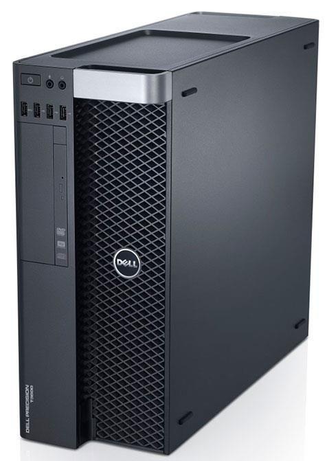 Системный блок Dell Precision T3610- Intel Xeon E5-1620v2-3.5GHz-32Gb-DDR3-SSD-256Gb-DVD-R+Nvidia Quadro K4000