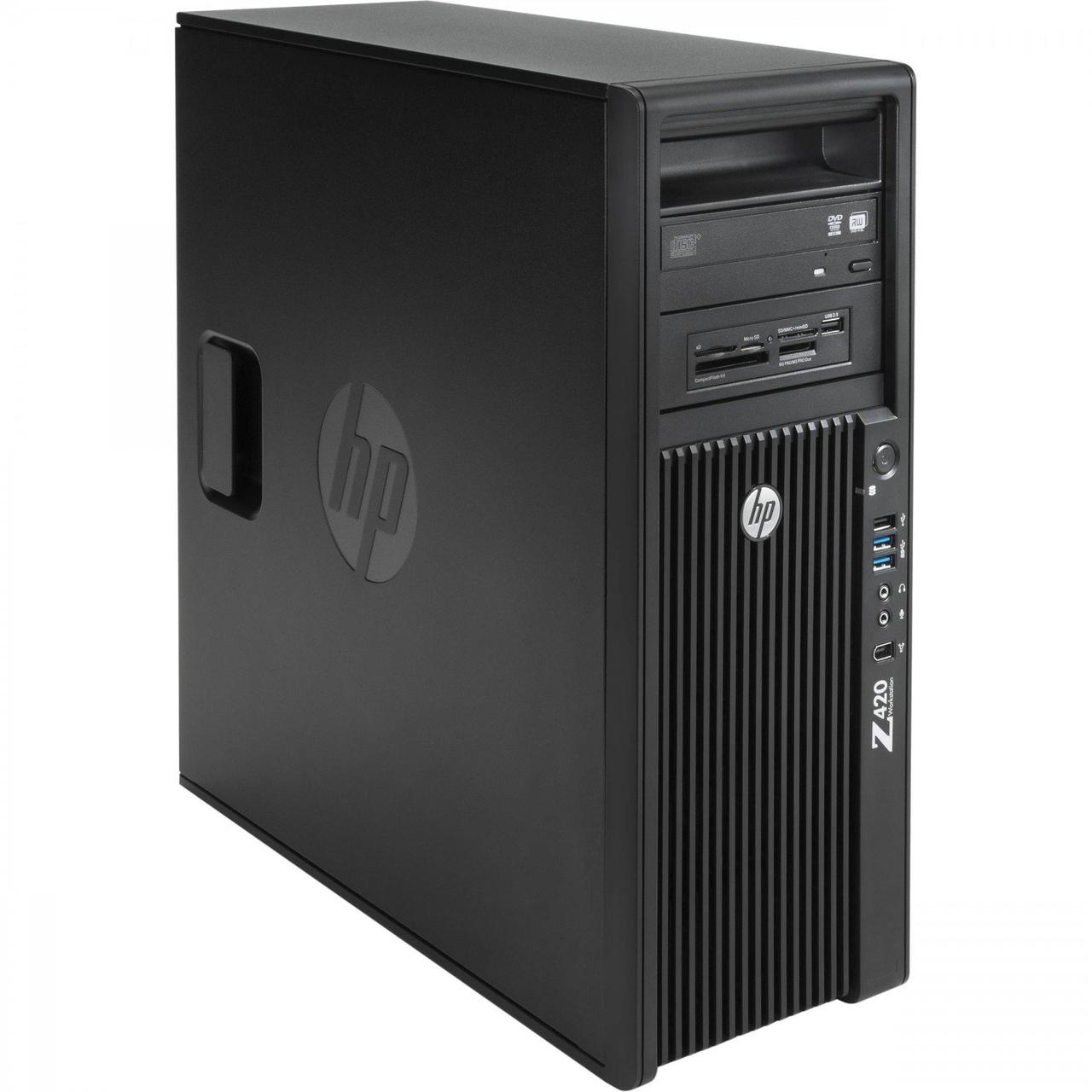 Системный блок HP Z440-Workstation-FT -Intel Xeon E5-1620v3-3,50GHz-16Gb-DDR4-256Gb-SSD-DVD-R+nVidia Quadro