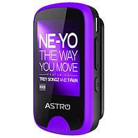 Mp3 плеер Astro M5 Black/Purple 1.77 с диктофоном, ОЗУ 8 Гб | Mp3 плеєр з диктофоном пурпуровий