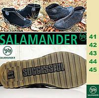 Мужские валенки, войлочные зимние ботинки шерстяные, бурки, повседневные. Реплика Salamander Wollmäntel.